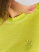 adidas originals Kleid Long Neon gelb 2