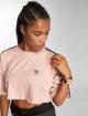 adidas originals T-Shirt Boxy rose 0