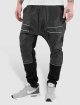 Bangastic Jogginghose Zip Leather schwarz 0