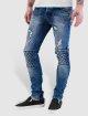 Bangastic Skinny Jeans Diamond blau 0
