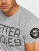 Better Bodies T-Shirt Basic Logo grau 3