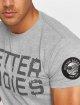 Better Bodies t-shirt Basic Logo grijs 3