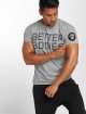 Better Bodies T-Shirty Basic Logo szary 0