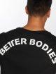 Better Bodies Tričká Hudson èierna 3