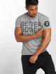 Better Bodies Tričká Basic Logo šedá 0