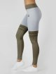 Beyond Limits Legging Overknee Stripe grau 1