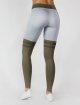 Beyond Limits Legging Overknee Stripe grau 2