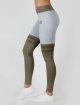 Beyond Limits Legging Overknee Stripe grijs 1