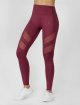 Beyond Limits Legging Super High Waist Mesh rouge 0