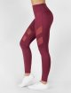 Beyond Limits Legging Super High Waist Mesh rouge 1
