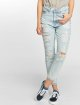 Dr. Denim High Waist Jeans Nora Ripped To Mom blau 3