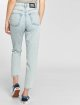 Dr. Denim High Waisted Jeans Nora Ripped To Mom blauw 4