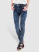 Just Rhyse High Waisted Jeans High Waist синий 0