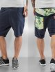 Just Rhyse Shorts Sweat blau 2