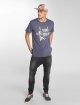 Just Rhyse T-Shirt Colàn blau