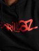 Merchcode Hoody Gorillaz Logo zwart