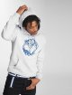Merchcode Sweat capuche Georgetown gris 0