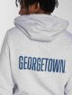 Merchcode Sweat capuche Georgetown gris 3