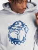 Merchcode Sweat capuche Georgetown gris 4