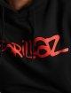 Merchcode Sweat capuche Gorillaz Logo noir 4