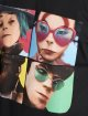 Merchcode T-Shirt Gorillaz 4 Faces noir 4