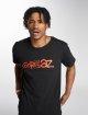 Merchcode T-Shirt Gorillaz Logo schwarz 1