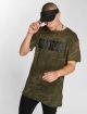 Merchcode T-Shirty Hustler Logo Camo moro 0