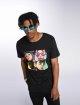 Merchcode T-skjorter Gorillaz 4 Faces svart 1