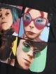 Merchcode T-skjorter Gorillaz 4 Faces svart 4