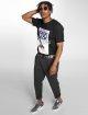 Mister Tee T-skjorter Cali Cali svart 1