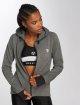 MOROTAI Hoodies con zip Comfy grigio 4