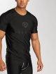MOROTAI T-Shirty Performance Basic czarny 0