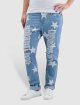 Noisy May Boyfriend jeans nmScarlet Star Low Waist Ankle blauw 0