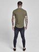 Sik Silk T-paidat Gym khakiruskea 3