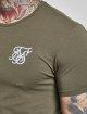 Sik Silk T-paidat Gym khakiruskea 4