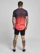 Sik Silk T-paidat Curved Hem Fade vaaleanpunainen 4
