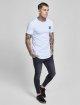 Sik Silk T-paidat Gym valkoinen 1
