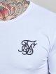 Sik Silk T-paidat Gym valkoinen 5