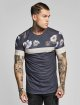 Sik Silk T-shirts Curved Hem Sports grå 0