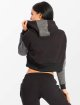 Smilodox Sweat capuche Flawless Cropped noir 2