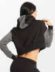 Smilodox Sweat capuche Flawless Cropped noir 3