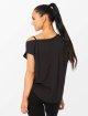 Smilodox T-Shirt Loose noir 3
