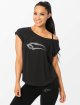 Smilodox T-Shirt Loose schwarz 0