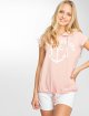 Sublevel T-Shirt Hooded rose 1