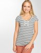 Sublevel T-Shirt Stripes white 3