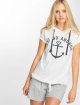 Sublevel T-Shirt Hooded white 1