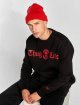 Thug Life Pullover B.Distress schwarz 0