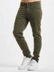 Urban Classics Rovné Basic Twill 5 Stretch Pocket olivová
