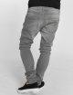 Urban Classics Slim Fit Jeans Knee Cut grau 3