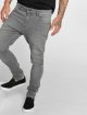 Urban Classics Slim Fit Jeans Knee Cut grey 0